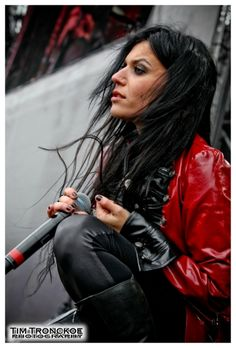 Cristina Scabbia. Lacuna Coil.  She looks almost exactly like the Ophelia, from Ophelia and Lyan are Dead Meat, in my head.