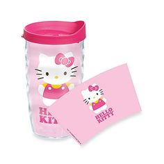 Tervis® Hello Kitty® Light Pink Wrap Wavy 10-Ounce Tumbler with Fuchsia Lid
