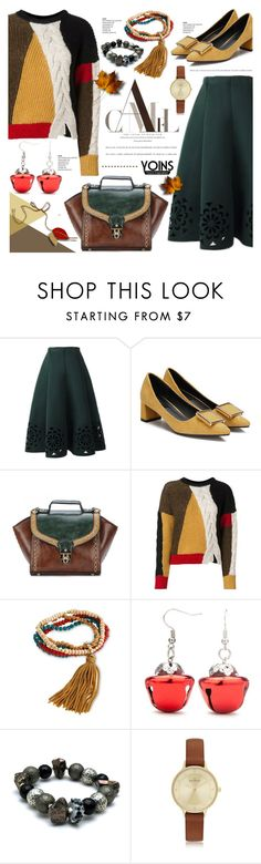 """""""Fall fashion- yoins 3.19"""" by cly88 ❤ liked on Polyvore featuring Étoile Isabel Marant, Red Camel and Skagen"""