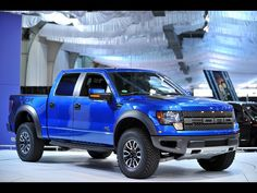 If I had to buy a ford, it would totally be a 2012 Ford Raptor in bright blue :)