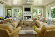 Lily Pad | The Cottage Company | Harbor Springs, Michigan | Home Builders & Interior Designers
