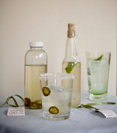 chamomile cordial, cowboy, gin & ginger tonic.