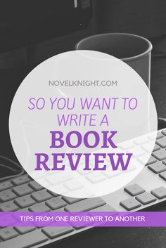 Great! Wanting to write a review is the first step! I've been doing this for over 6 years and I think one of the hardest parts about writing reviews is being motivated enough to actuallywritethem and not just start a new book. General Tips Now there's no right or wrong way to review a book because it's your thoughts but if you're looking for a …