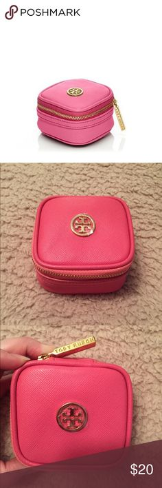 NWOT authentic Tory Burch jewelry travel box Super cute & stylish travel jewelry box made by Tory Burch! NWOT Tory Burch Accessories