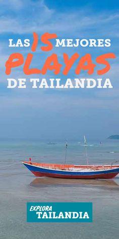 Hay tantas islas y playas en Tailandia que se hace difícil elegir cuál visitar. Pero no se vuelvan locos, en esta lista van a encontrar cuales son las 15 mejores playas de todas. Algunas pueden llenarse demasiado de turistas, pero si van a la hora correcta, van a tener un paraíso para ustedes solos. #lasmejores #islas #playas #tailandia #cosasparahacer #viajes #tailandiaviaje #guia #consejos Isla Phi Phi, Travel Packing, Travel Tips, Krabi Thailand, Koh Samui, Travel Photos, Places To Go, Around The Worlds, Adventure