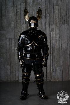 Full gothic plate armor 15 century