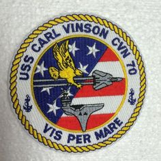 US-Navy-Patch-USS-CARL-VINSON-CVN-70-VIS-PER-MARE