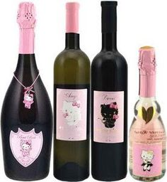 Hello Kitty Wine! That kitty is taking over the world and we just love the labels!  Very cute IMPDO.