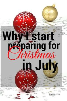 When the hustle and bustle of Christmas preparations start this year, you can sit back because you would have already done most of your preparation