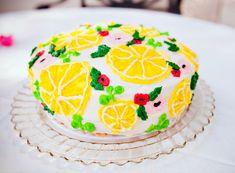 flamingo and lemon theme party