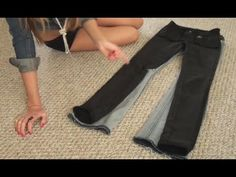 Recycle and Reuse old Jeans. DIY, Recon  Craft Ideas! - http://changemyselfnow.com/diy/recycle-and-reuse-old-jeans-diy-recon-craft-ideas