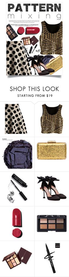 """""""Untitled #986"""" by daya123 ❤ liked on Polyvore featuring Chicwish, Urban Decay, KOTUR, Bobbi Brown Cosmetics, Miu Miu, Chanel and NARS Cosmetics"""