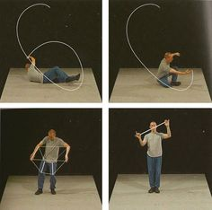 "William Forsythe: ""Lectures from improvisation technologies"", 2011. From: Danse et architecture. Nouvelle de danse 42/43."