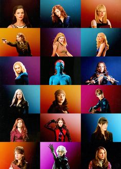 Women of Marvel (movie 'verse) About half of these are awful... but the colors are pretty