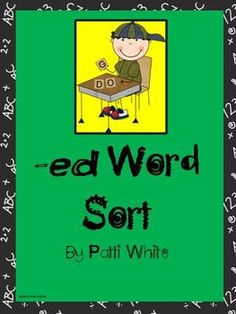 Here is a quick hands-on sorting activity for adding the suffix -ed to words ending in -y.  $1.00