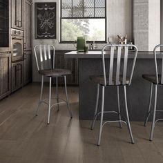 """Trent Austin Design Lake Forest 25.5"""" Swivel Bar Stool"""