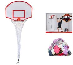 Basketball Hoop Laundry Basket Childrens #electronic Over The Door #hanging #basketball Net Toy
