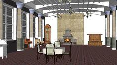 Classical Interior - 3D Warehouse