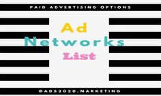 #Paidadvertising on Internet for 2016 via #PPC CPC #CPM #CPA based #adsplatforms