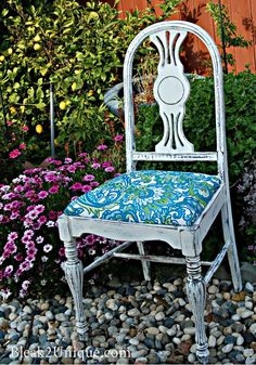Tons of great upcycled furniture on this blog!