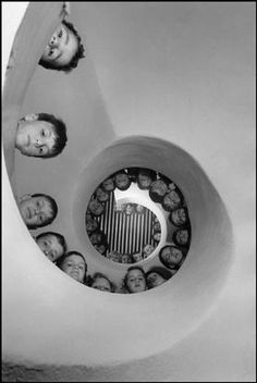 Children's library in France, 1965. This is one of the many amazing photographs of Martine Franck, who died earlier this month at age 74.