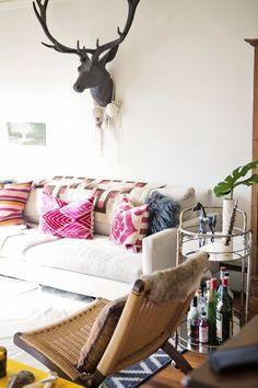 Sarah's Curio Filled Studio House Tour | Apartment Therapy