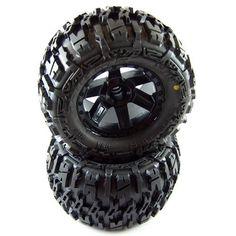 "Proline 117012 Trencher 2.8"" All Terrain Tires Mounted for Jato, Nitro, Stampede"