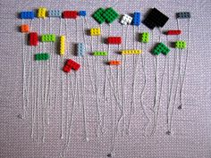 For the earrings: posts + backs (sold in bulk at most craft stores).  Legos of desired size.  Aleene's Platinum Bond 7800 glue OR E600 glue.  Before someone asks - I recommend these glues because I've used them before in other projects (Playstation controller button earrings!) and I know that they work amazingly well to adhere metal and plastic. The bond will last for years - I made the controller button earrings over 6 years ago and they're still fine. Plus, both glues dry clear.