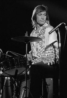 Charlie Watts The Rolling Stones, Mick Jagger Rolling Stones, Keith Richards, Gretsch Drums, Rollin Stones, Slide Guitar, Charlie Watts, British Rock, Rhythm And Blues