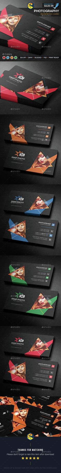 Photography Business Card Template PSD. Download here: http://graphicriver.net/item/photography-business-card/15010019?ref=ksioks