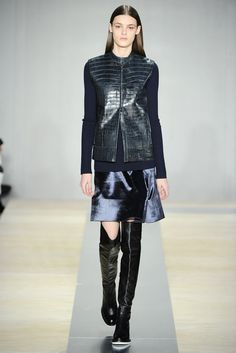 Reed Krakoff RTW Fall 2013. blues. #fall2013 #nyfw