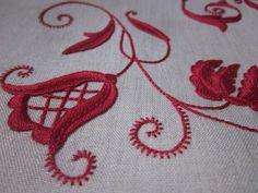 Elizabeth Hand Embroidery: Bricco Red
