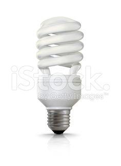 Compact Fluorescent Lightbulb (royalty-free stock photo) © mgkaya