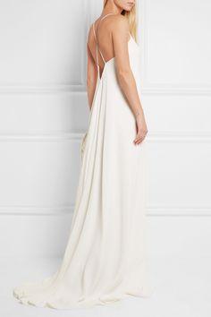 Calvin Klein Collection | Alessia silk crepe de chine gown | NET-A-PORTER.COM