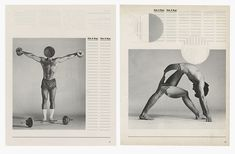 It's Nice That | Ben Branagan turns Schwarzenegger bodybuilding book into striking collages