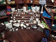 Primitive fired ceramics from Cinder and Smoke Studio (www.facebook.com/cinderandsmokestudio).