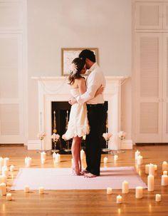 Praise Wedding Community | Romantic date at home | http://www.praisewedding.com/community