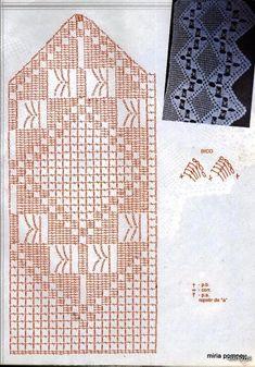 вязание крючком окантовка журнала | сделать ручной работы, вязание крючком, ремесла