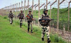 पठानकोट : बीएसएफ ने एक संदिग्ध घुसपैठिए को मार गिराया, दो भाग गए पाकिस्तान की ओर