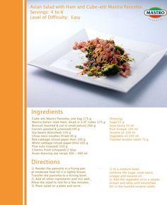 Asian Pancetta Salad