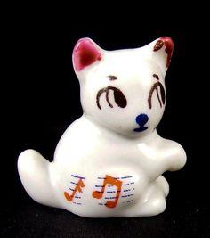 Wade Minikin Mouse 1956 Musical Notes