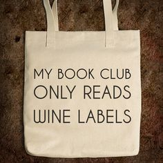 "think I need to start my own ""book club""  Who's in?"