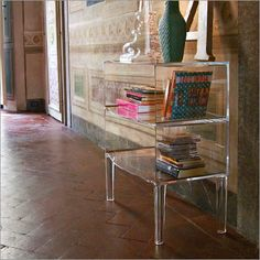 Kartell Ghost Buster Table By Philippe Starck