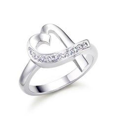 Tiffany and Co Paloma Picasso Heart Ring