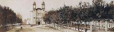 El parque de la Alameda, cuando todavía era una joven promesa | elcorreogallego.es