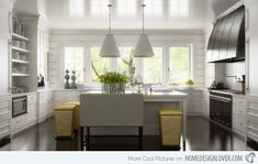 A Collection of 15 Classy Chic Kitchen Designs | Home Design Lover