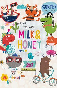 print & pattern: SURTEX 2015 - milk & honey