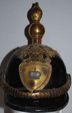 Pattern 1856 general's helmet of Russian Imperial Army.