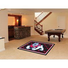 Fresno State Bulldogs NCAA Floor Rug (4'x6')