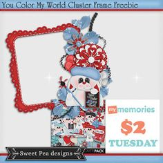$2 Tuesday at My Memories and Freebie
